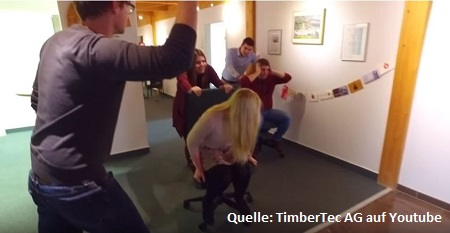 Mannequin Challenge bei TimberTec AG - YouTube